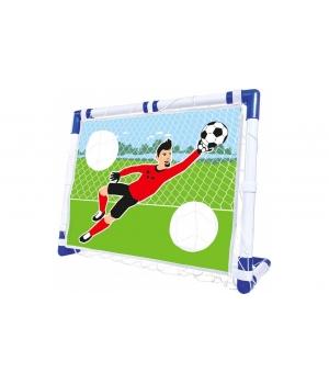 Складные футбольные ворота для дома и дачи, 2 в 1, 87x69, Simba