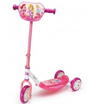 """Детский трехколесный самокат для девочки """"Дисней Принцессы"""", Smoby"""