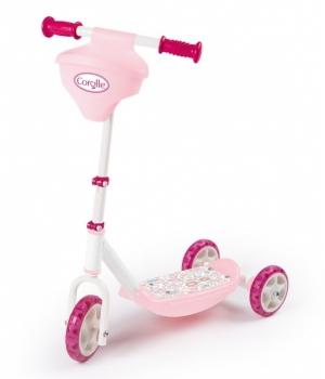 """Самокат детский 3 х колесный для девочек, """"Королле"""", от 3 лет, Smoby"""