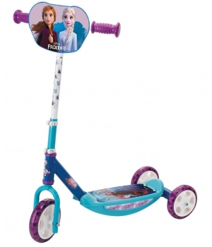 """Детский трехколесный самокат для девочки """"Frozen 2"""", Smoby"""