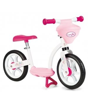 Беговел для детей от 3 лет, розовый, Smoby