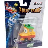 Train Duckling - Robot Trains in a blister, 6 cm Silverlit