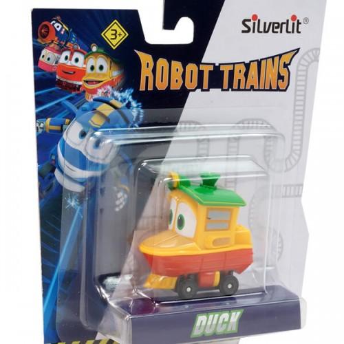 Паровозик Утенок - Роботы Поезда в блистере, 6 см Silverlit