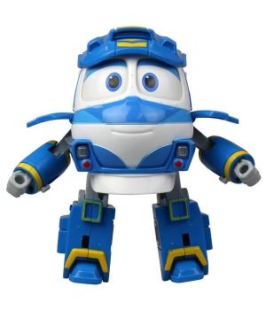 Кей Роботы Поезда игрушка трансформер, 10 см, Silverlit (Оригинал)