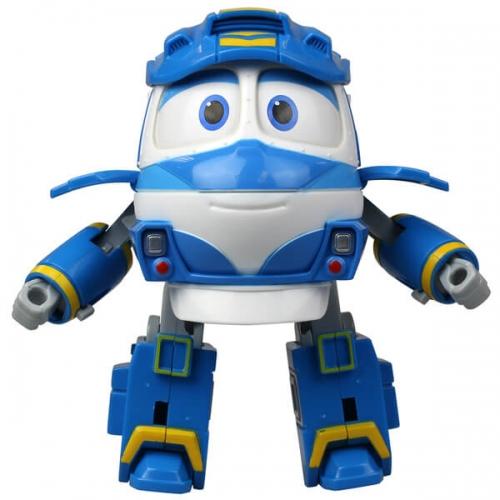 Трансформер Кей - Игрушка Роботы Поезда, 10 см Silverlit