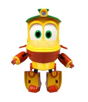 Утенок Роботы Поезда игрушка трансформер, 10 см, Silverlit (Оригинал)