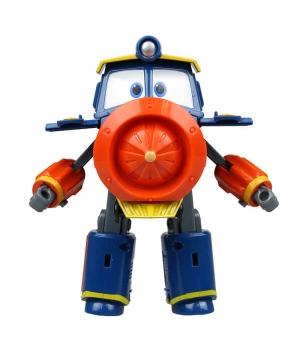 Виктор Роботы Поезда игрушка трансформер, 10 см, Silverlit (Оригинал)