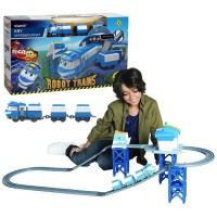 Kay Station Kit - Train Robots, Silverlit