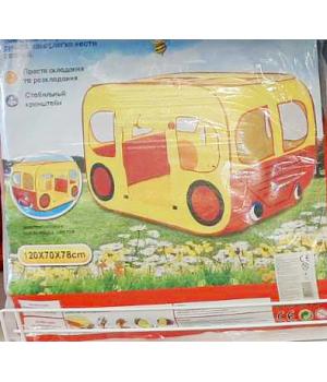 """Детская палатка машина для мальчика """"Автобус"""", Игровые палатки для детей"""