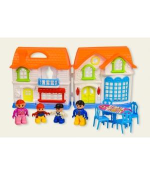 Кукольный домик для кукол (фигурки, мебель)