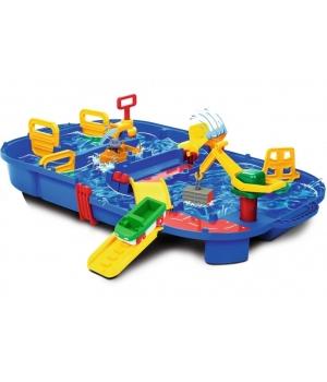 Игровой набор для игр с водой, Грузовая Переправа, 68x65 см, Аква Плей