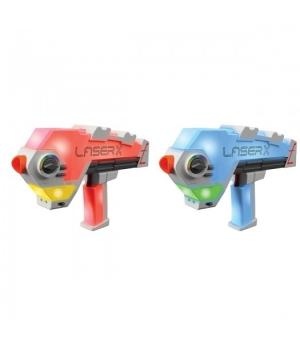 Лазертаг игрушка - бластеры для двух игроков, Laser X Evolution