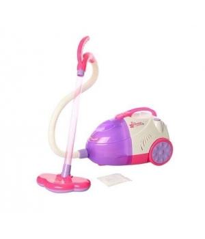 Детский пылесос для детей (свет, звук, съемный резервуар для мусора)