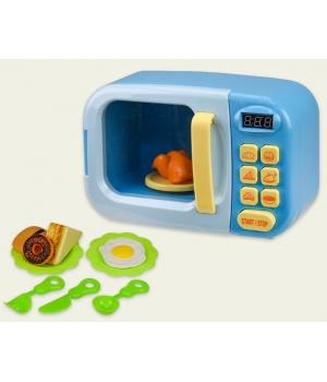 Детская микроволновка (свет-звук,вращается тарелка,продукты)
