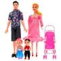 Барби семья