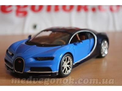 Фото + Видео. Коллекционная машинка Bugatti Chiron в масштабе 1:24 от Maisto.