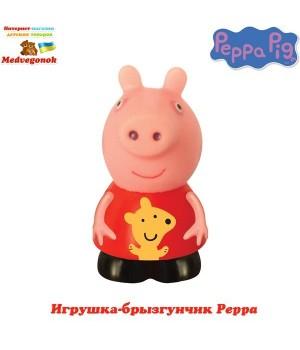 Свинка Пеппа игрушка брызгалка для ванной Peppa, от 3 лет