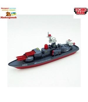 Игрушка военный корабль Технопарк, от 3 лет