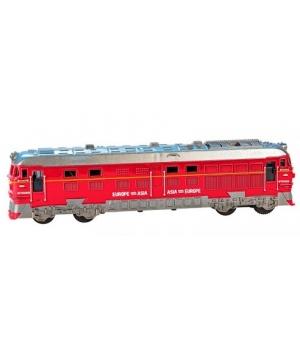 Детский поезд игрушка, красный (G1717-3)