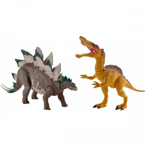 Фигурка большого динозавра Jurassic World Двойной удар