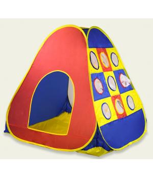 Детская игровая палатка (окошки с москитной сеткой) 104*110*104см, Палатка для детей
