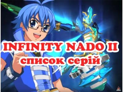 Список эпизодов мультика Инфинити Надо 2 «Infinity Nado 2». Описание серий.