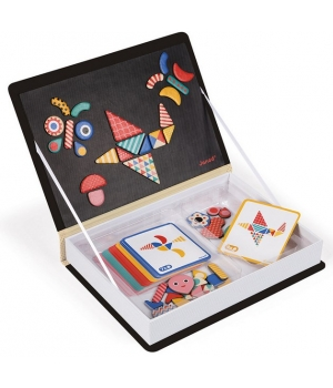Магнитная игра геометрические фигуры для детей, Janod
