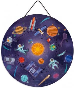 Дидактическая магнитная игра солнечная система для детей, Janod