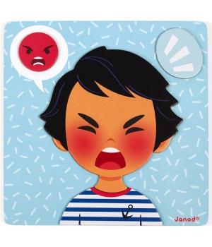 Магнитная игра эмоции для детей, Janod
