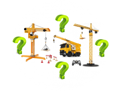 Что выбрать: детский башенный кран или детский автокран?