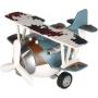 Металлический самолет игрушка