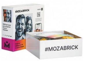Фото-конструктор MOZABRICK. Новинка 2020 в мире конструкторов.