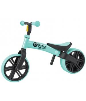 Беговел для самых маленьких от 2 лет, зеленый, YVolution Yvelo Junior
