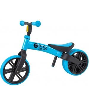 Беговел для самых маленьких от 2 лет, синий, (двойное колесо) YVolution Yvelo Junior