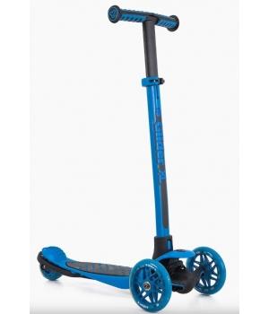 Самокат трехколесный для детей от 3 лет, YVolution YGlider XL Синий