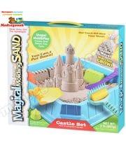 Кинетический песок Замок 0,9 кг (натуральный) Same Toy
