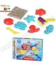 Детский песок для творчества Морской мир 0,450 кг (натуральный) Same Toy