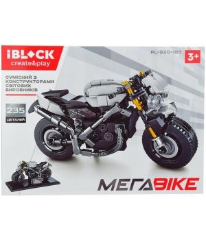 Конструктор мотоцикл 235 деталей, IBLOCK PL-920-185