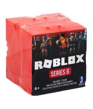 Роблокс 6 серия фигурки (оранжево-красные кубики) Orange Assortment S6
