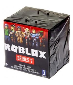 Роблокс 7 серия фигурки (черные кубики) - Obsidian Assortment S7