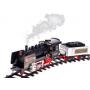 Железная дорога с дымом