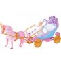 Куклы с каретой и лошадью