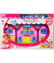 Домик для кукол с мебелью, 38 см, Happy