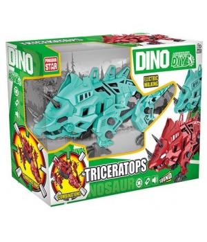 Конструктор с инструментами Динозавр, с отверткой