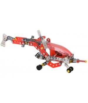 Конструктор металлический вертолет, Same Toy, (207 деталей)