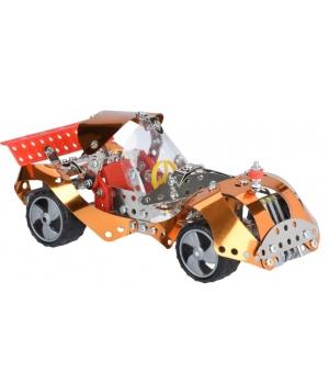 Конструктор металлический машинка, 278 деталей, Same Toy
