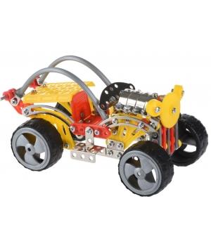 Конструктор металлический джип, Same Toy, (243 детали)