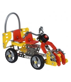 Конструктор металлический машинка байк, Same Toy