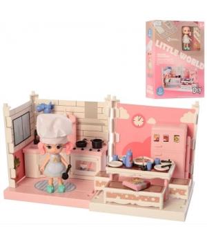 Дом для кукол кухня (куколка,мебель), Little World