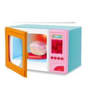 Микроволновка детская игрушка XS-18002-1 (свет-звук, курица меняет цвет)